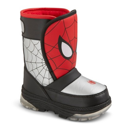 Spiderman Snow Boots Size 11 | Santa Barbara Institute for