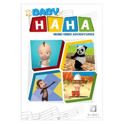 Baby Haha Music Adventures DVD English