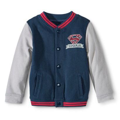 Superman Boys Varsity Jacket for Infant and Toddler Boys