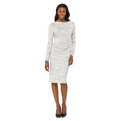 Mossimo® Women's Side Ruched Dress - Assorted Colors