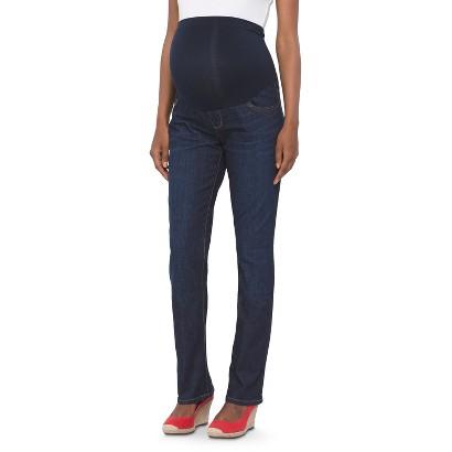 Maternity Bootcut Denim Jeans Dark Blue Wash-Liz Lange® for Target®-Liz Lange® for