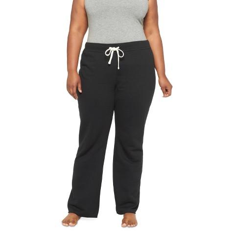 Juniors Plus Size Fleece Lounge Pants-Mossimo Supply Co