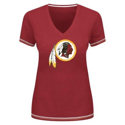 NFL Tops Redskins Fashion  Team Color