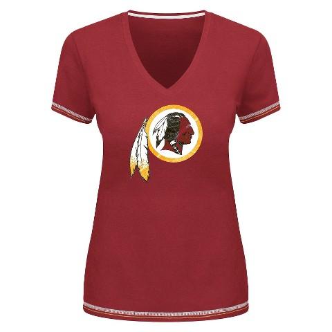 Washington Redskins Women's V-Neck Top