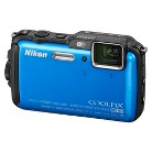 Nikon AW120 16.1MP Action Digital Camera with Full HD 1080p Video Recording