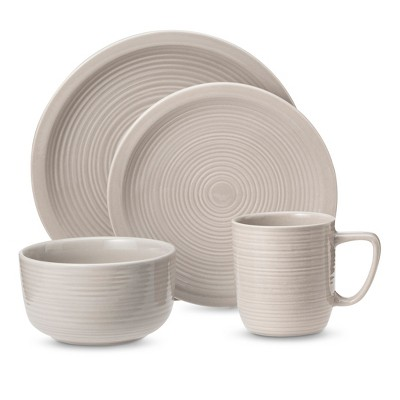 Threshold™ Studio 16 piece Dinnerware Set - Gray