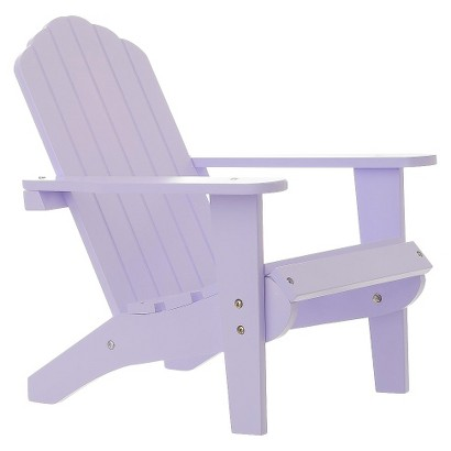 "Laurent Doll Lavender 18"" Doll Adirondack Chair"