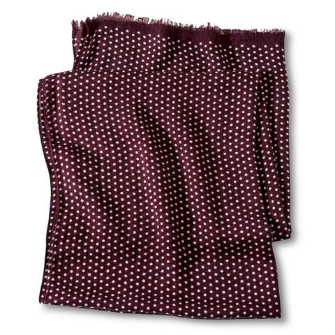 Merona® Polka Dot Scarf - Red
