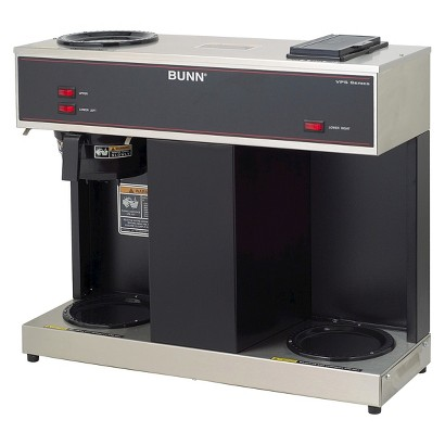 BUNN VPS 12-Cup Pourover Commercial Coffee Brewer w/3 Warmers