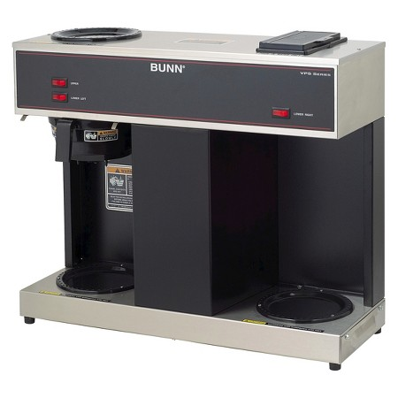 BUNN VPS 12-Cup Commercial Coffee Brewer, 3 Warmers : Target