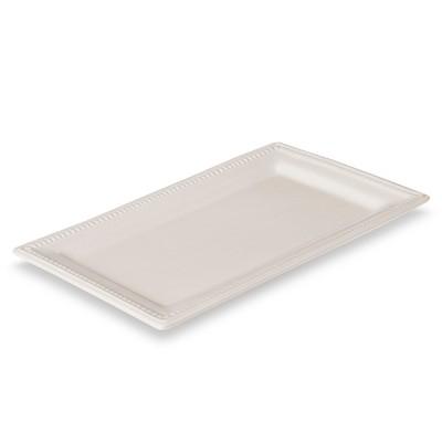 Threshold™ Traditional Round Small Rectangular Platter - Cream