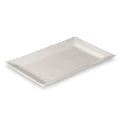 Threshold™ Traditional Round Large Rectangular Platter - Cream