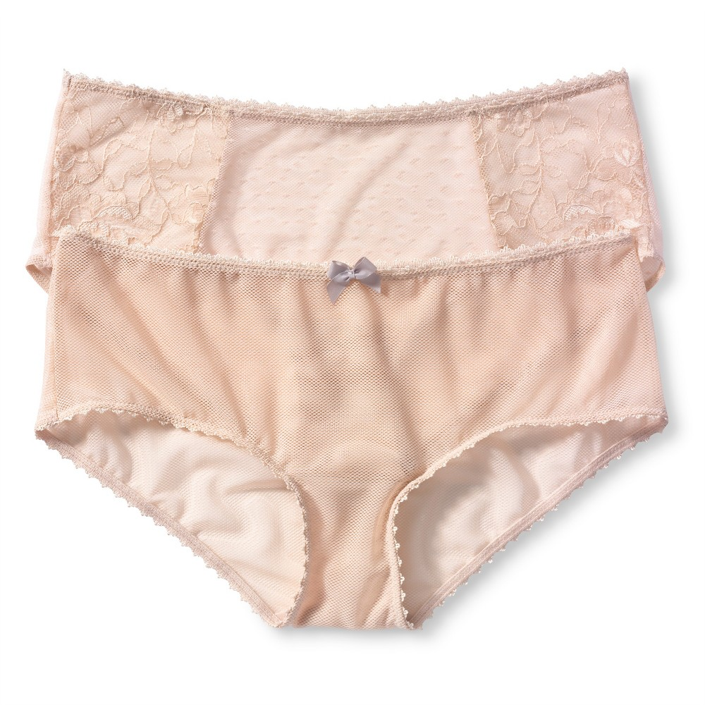 e0089265aaf7 Simply Perfect by Warner's Women's No Muffin Top Lace Hipster 5609TA ...