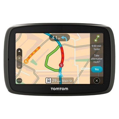 "TomTom GO 60 Portable 6"" Touch Screen GPS Navigator - Black/Gray (1FC601901)"