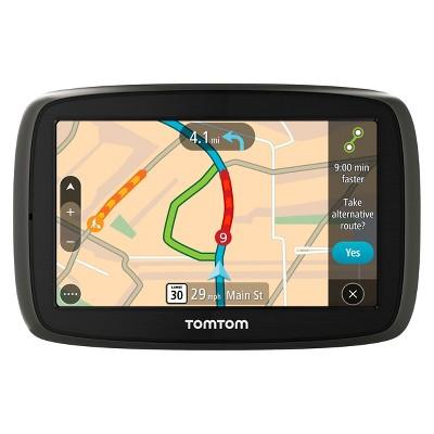 "TomTom GO 60 Portable 6"" Touch Screen GPS Navigator - Black/Gray (1FC601901)"