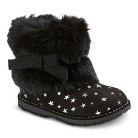 Infant Girl's Genuine Kids from OshKosh™ Abia Fur Boots - Black