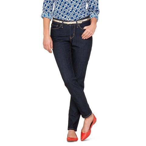 Women's Essential Stretch Skinny Jean (Curvy) Limo