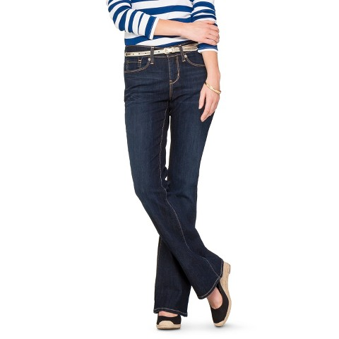 Women's Essential Stretch Bootcut Jean (Curvy Fit) Afterglow