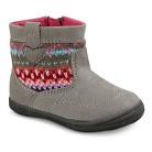 Infant Girl's Genuine Kids from OshKosh™ Adora Sweater Boots - Grey
