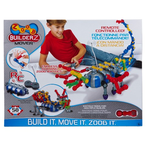Alex ZOOBMover  Construction Building Set