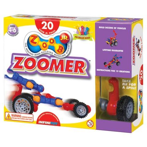 Alex Brands ZOOB 0Z13020 ZOOB JR. Zoomer Construction Building Set