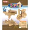 Alex Brands Ideal 6480BL Kinderblocks Wood Construction 38-piece Set