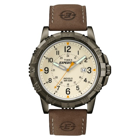 s timex expedition 174 gray brown target