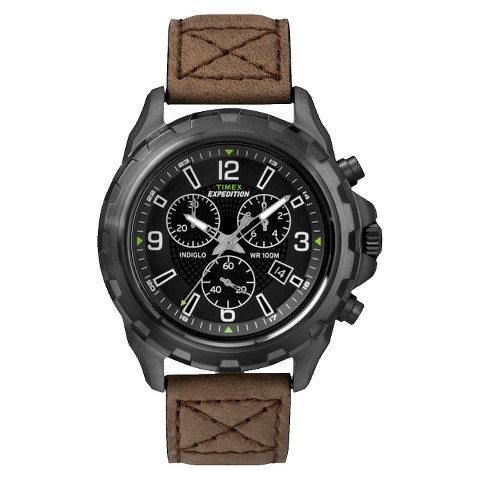 s timex expedition 174 black brown target