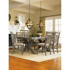 Powell Turino Dining Table - Brown (Set of 5)