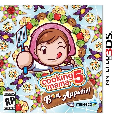 Cooking Mama 5: Bon Appetit! (Nintendo 3DS)