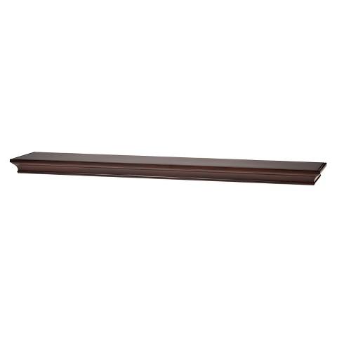 "Threshold™ Classic Wall Shelf - Espresso 36"""