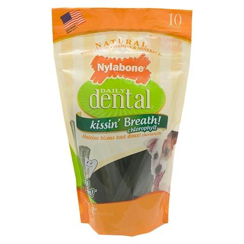 Daily Dental Nylabone 10 ct Pouch