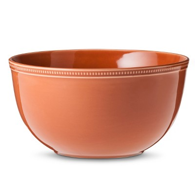 Threshold™ Camden Large Serve Bowl - Orange