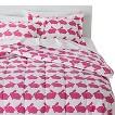 Anorak Rabbit Comforter Set - Pink/White