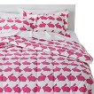 Anorak Rabbit Comforter Set - Pink/White