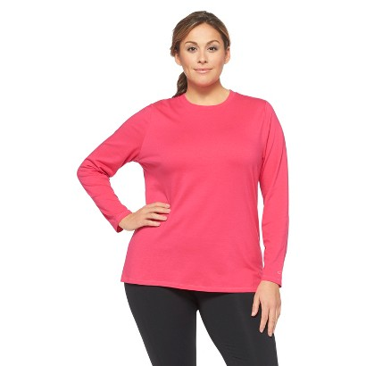 C9 by Champion Women's Plus Size Long-Sleeve Power Workout Tee