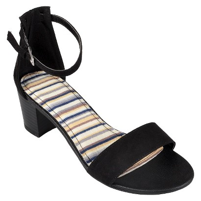 Women's Journee Collection Heeled Ankle Strap Sandals - Assorted Colors