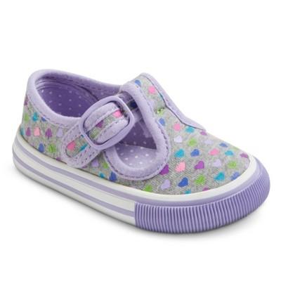 Infant Girl's Genuine Kids from OshKosh™ Adelaide Sneakers - Grey 2