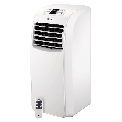 LG 8-000 BTU Portable Air Conditioner with Electronic Controls - White - LP0814WNR