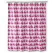 Anorak Rabbit Shower Curtain - Pink