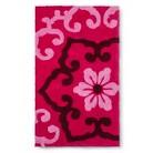 "Boho Boutique™ Taj Bath Rug - Pink (20X34"")"