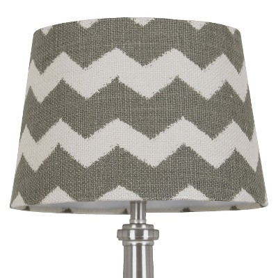 Threshold™ Chevron Print Burlap Lamp Shade