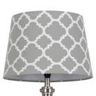 Threshold™ Flocked Ogee Lamp Shade