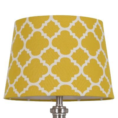 Threshold™ Flocked Ogee Lamp Shade Small - Sunnyside Gold