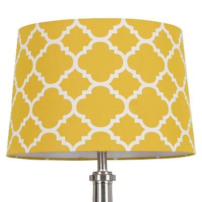 Threshold™ Flocked Ogee Lamp Shade Large - Sunnyside Gold