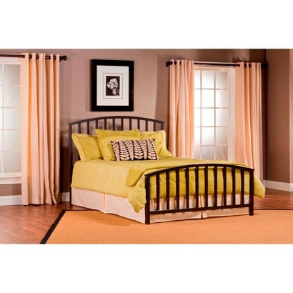 Apollo Bed Set w/Rails - Black (King)