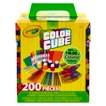 Crayola 200 Piece Color Cube