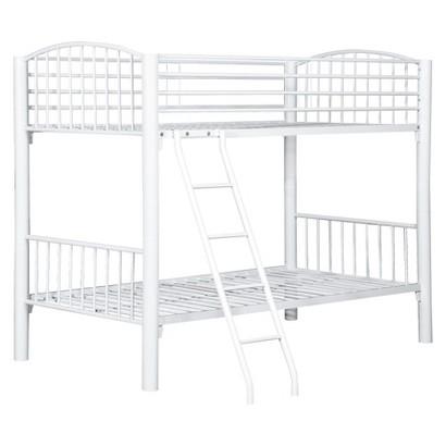 Powell Econo Bunk Bed - White (Twin)