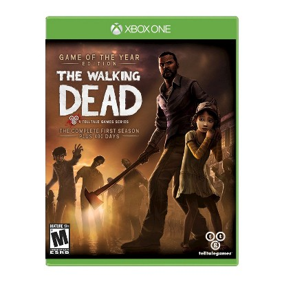 The Walking Dead: The Complete First Season Plus 400 Days - Game of The Year Edition (Xbox One)