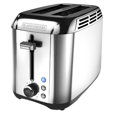 BLACK + DECKER 2-Slice Rapid Toaster